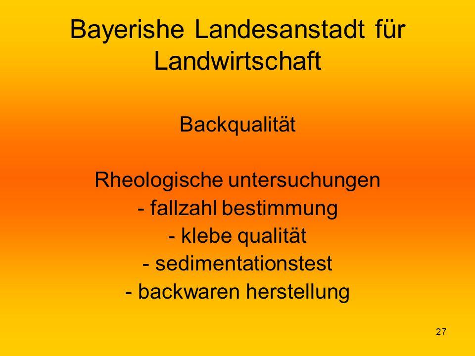 Bayerishe Landesanstadt für Landwirtschaft
