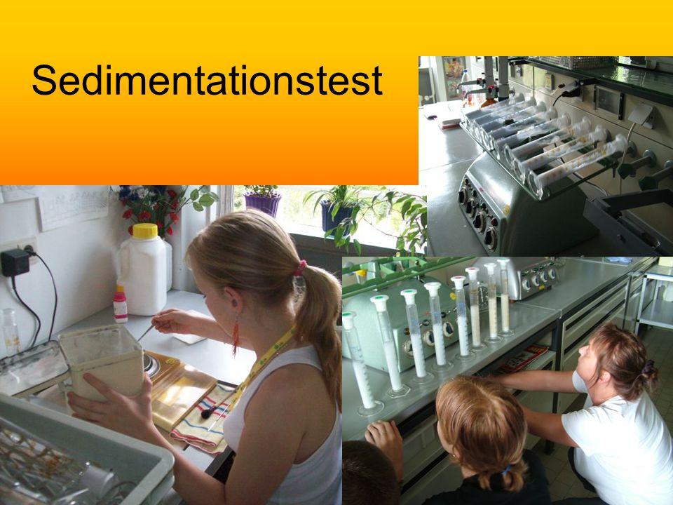 Sedimentationstest