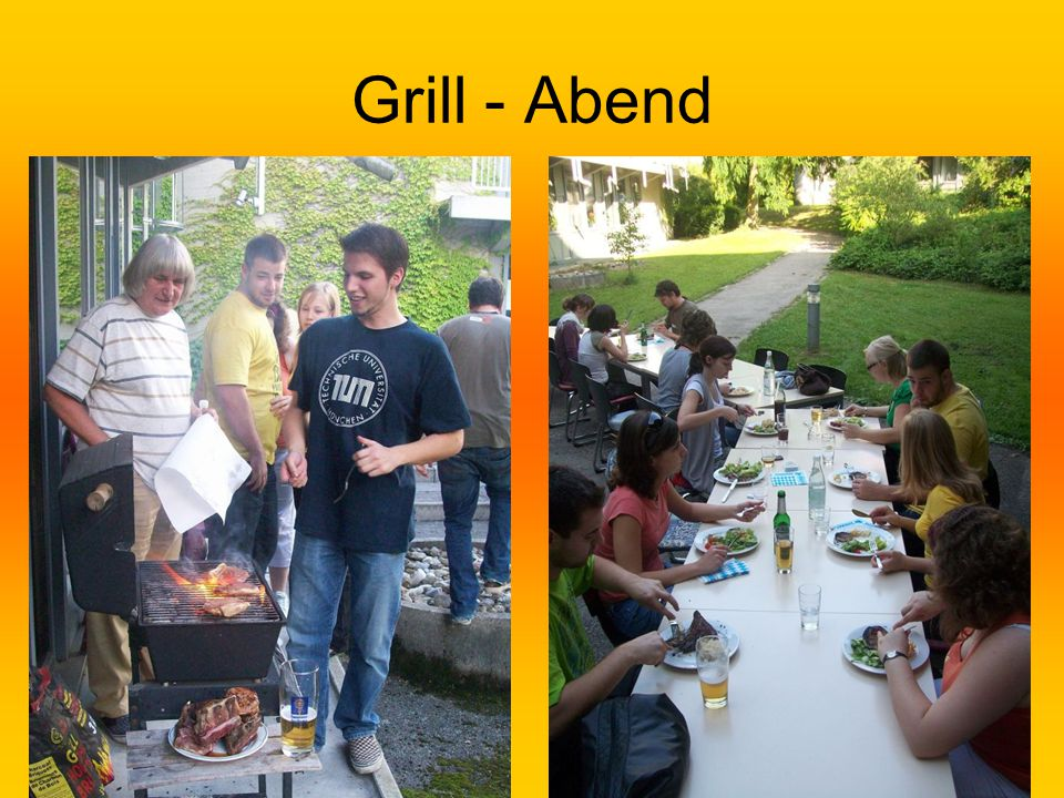 Grill - Abend