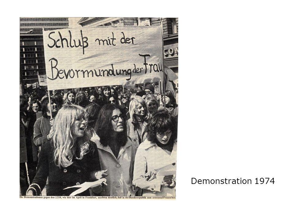 Demonstration 1974