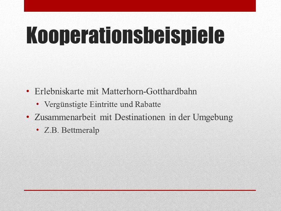 Kooperationsbeispiele