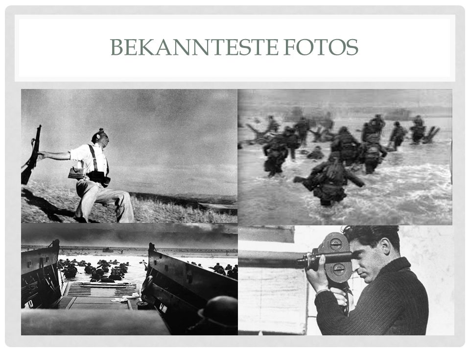 BEKANNTESTE FOTOS