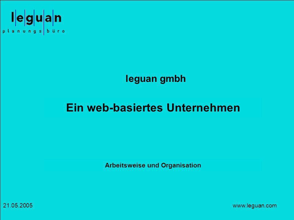Ein web-basiertes Unternehmen