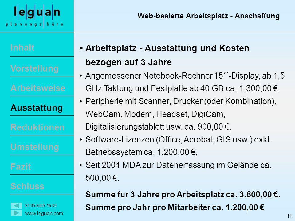 Web-basierte Arbeitsplatz - Anschaffung