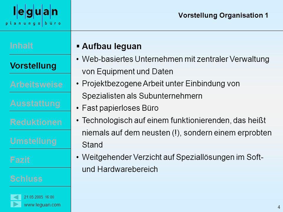 Vorstellung Organisation 1