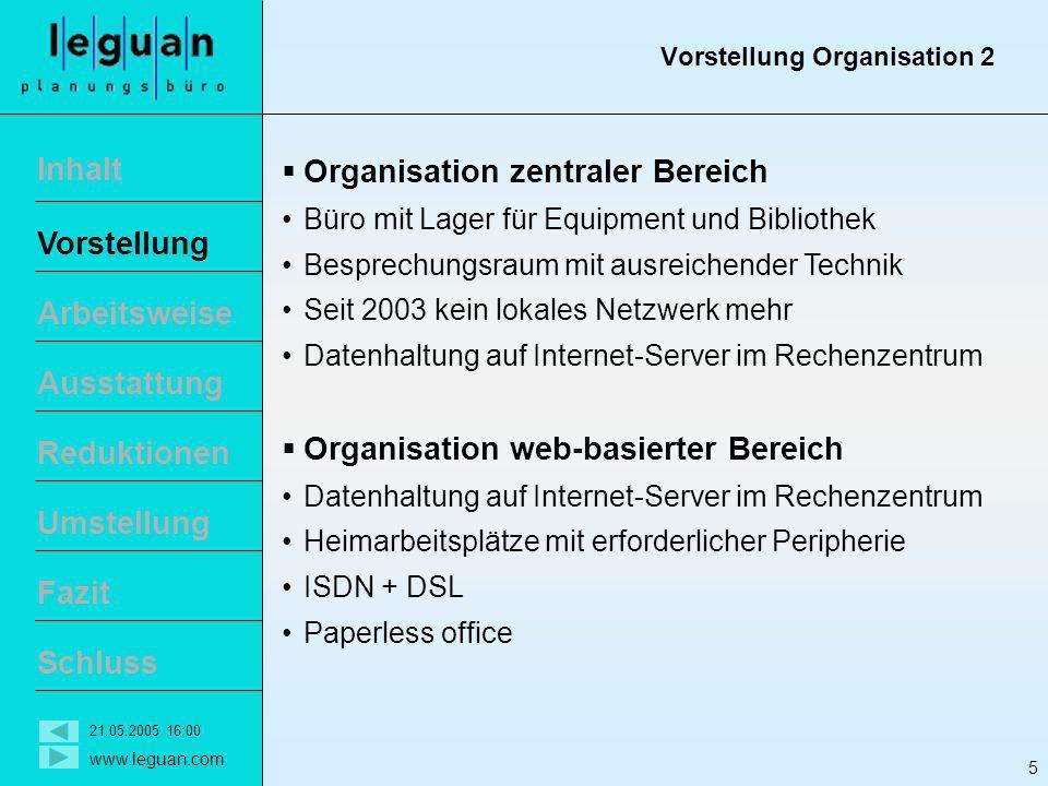 Vorstellung Organisation 2