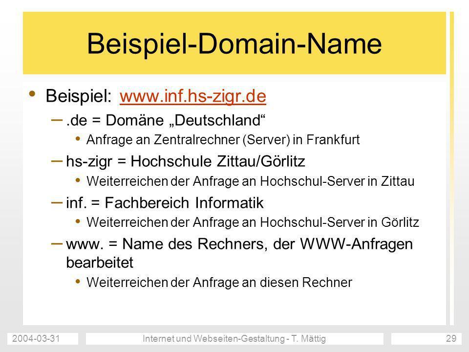 Beispiel-Domain-Name