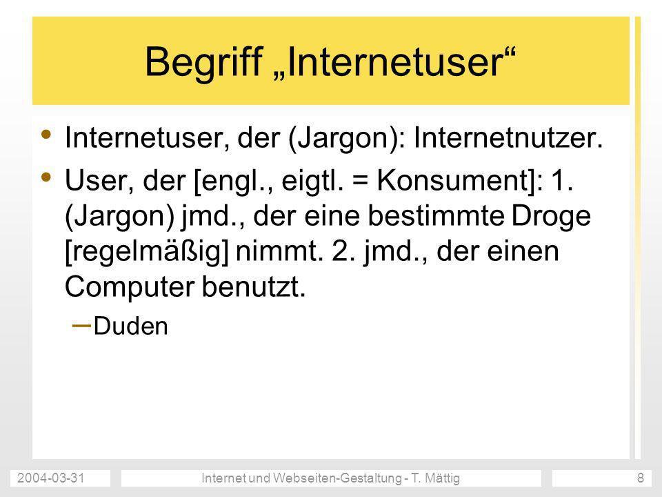 """Begriff """"Internetuser"""