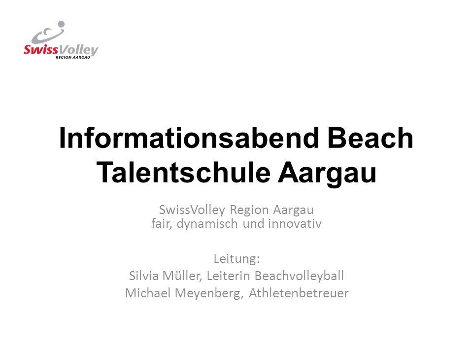 Informationsabend Beach Talentschule Aargau