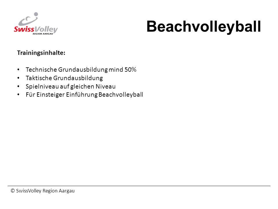 Beachvolleyball Trainingsinhalte: Technische Grundausbildung mind 50%