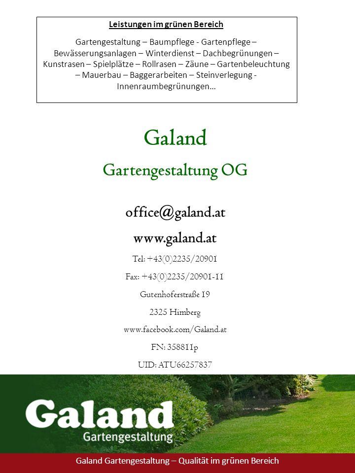 Leistungen im grünen Bereich