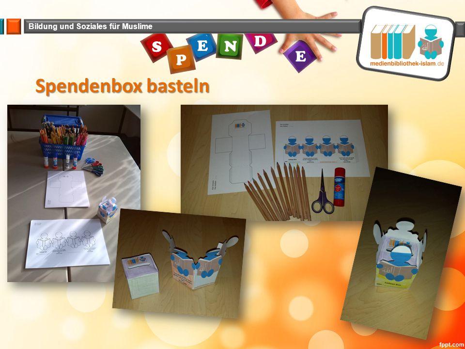 Spendenbox basteln