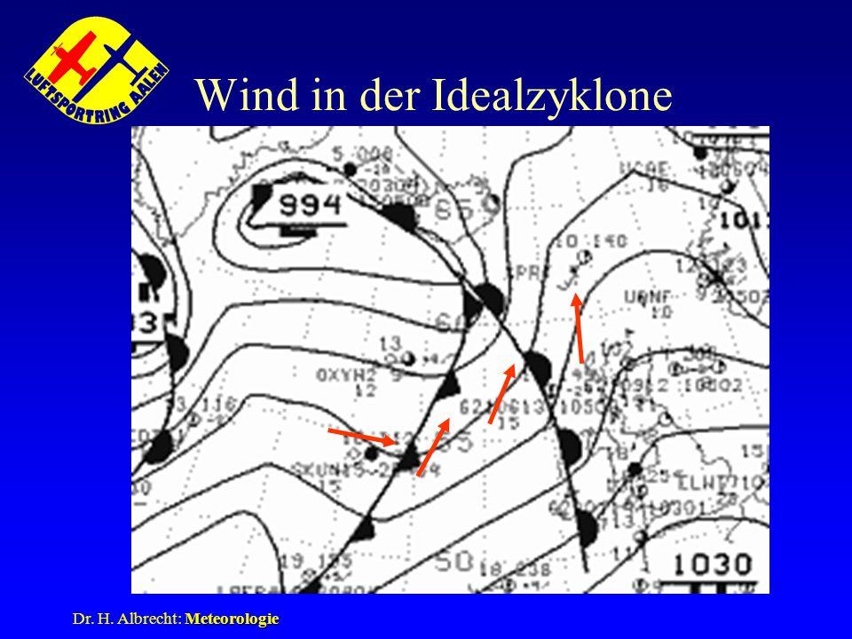Wind in der Idealzyklone