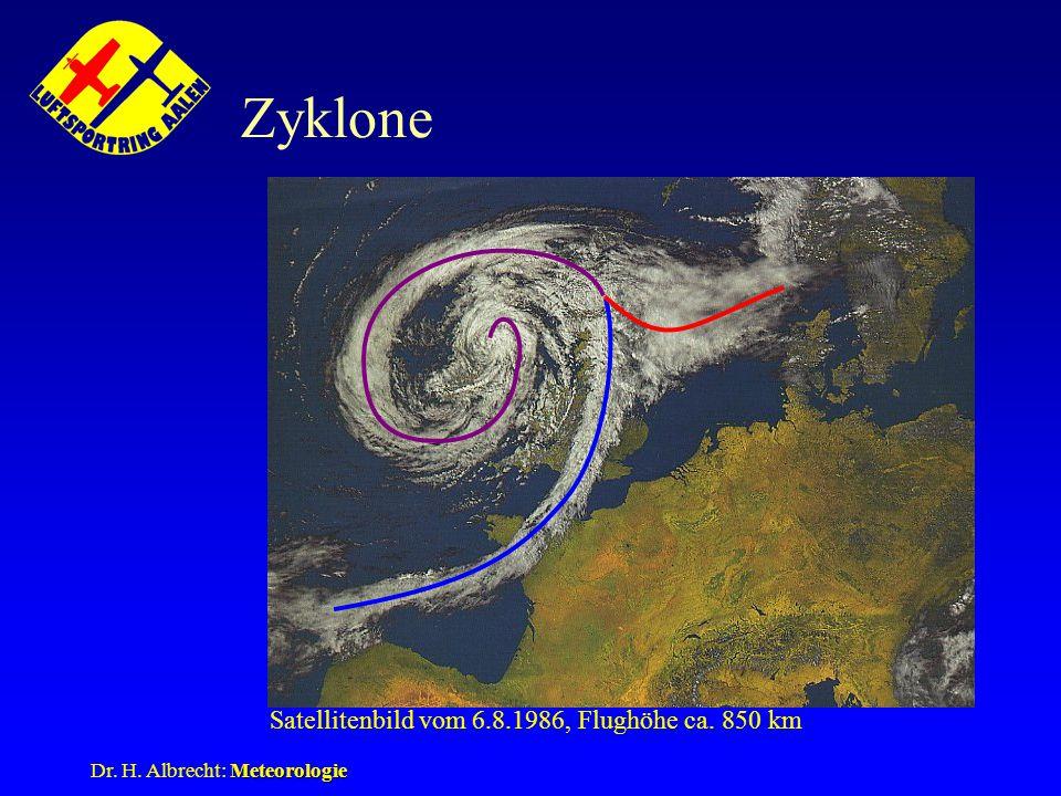 Satellitenbild vom 6.8.1986, Flughöhe ca. 850 km