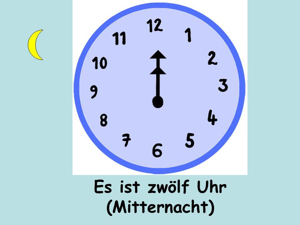 Es ist zwölf Uhr (Mitternacht)