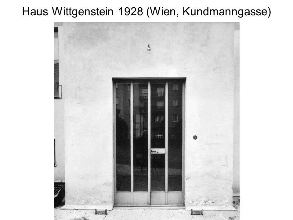 Haus Wittgenstein 1928 (Wien, Kundmanngasse)