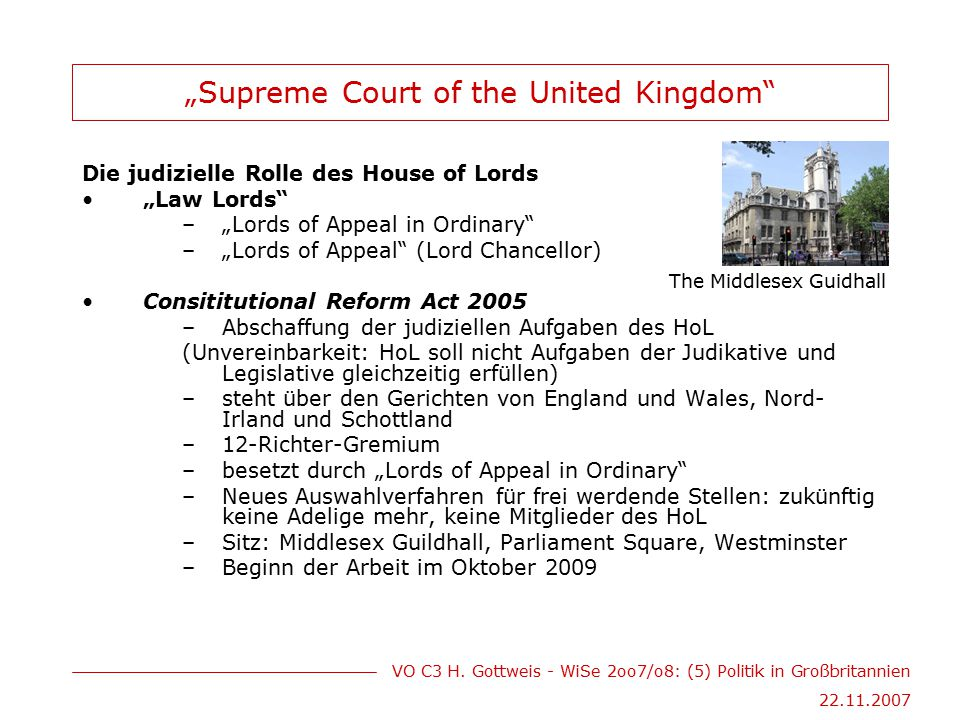 """Supreme Court of the United Kingdom"