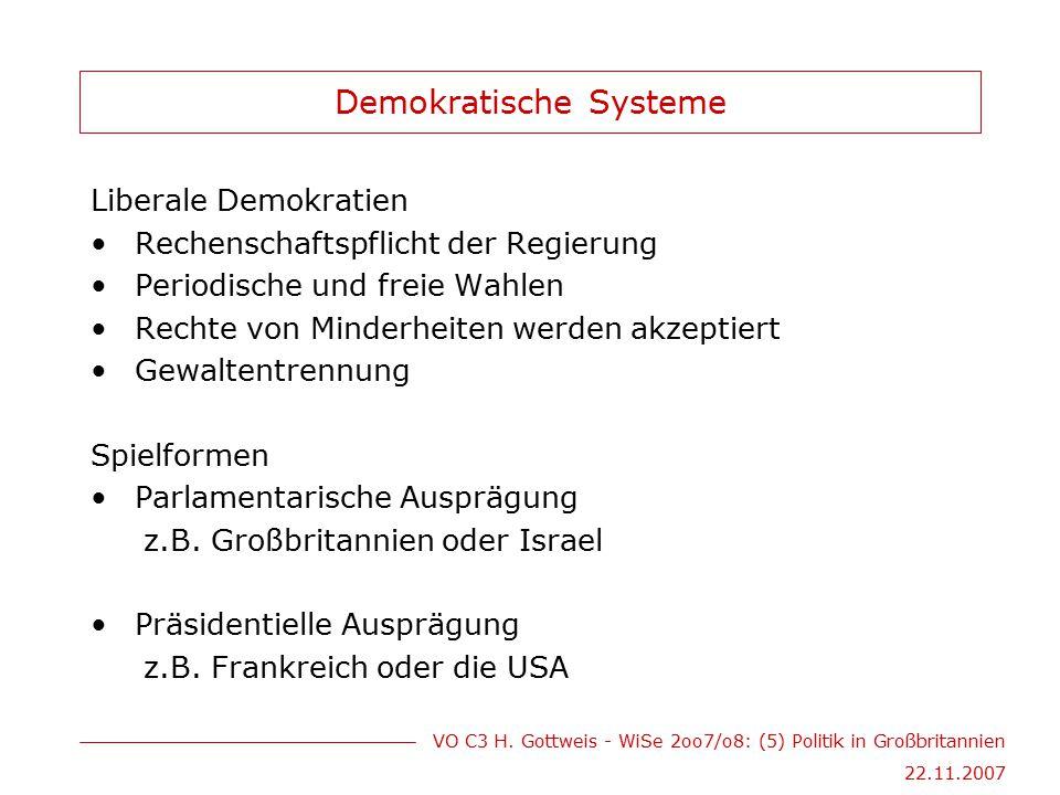 Demokratische Systeme