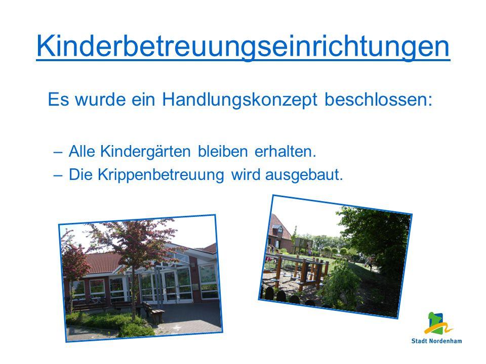 Kinderbetreuungseinrichtungen