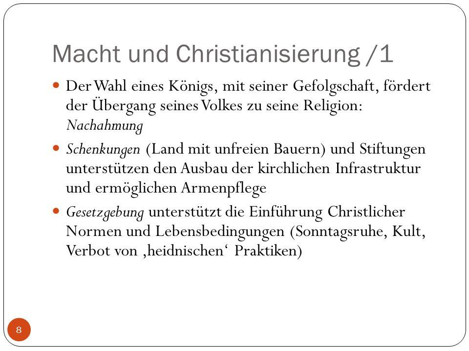 Macht und Christianisierung /1