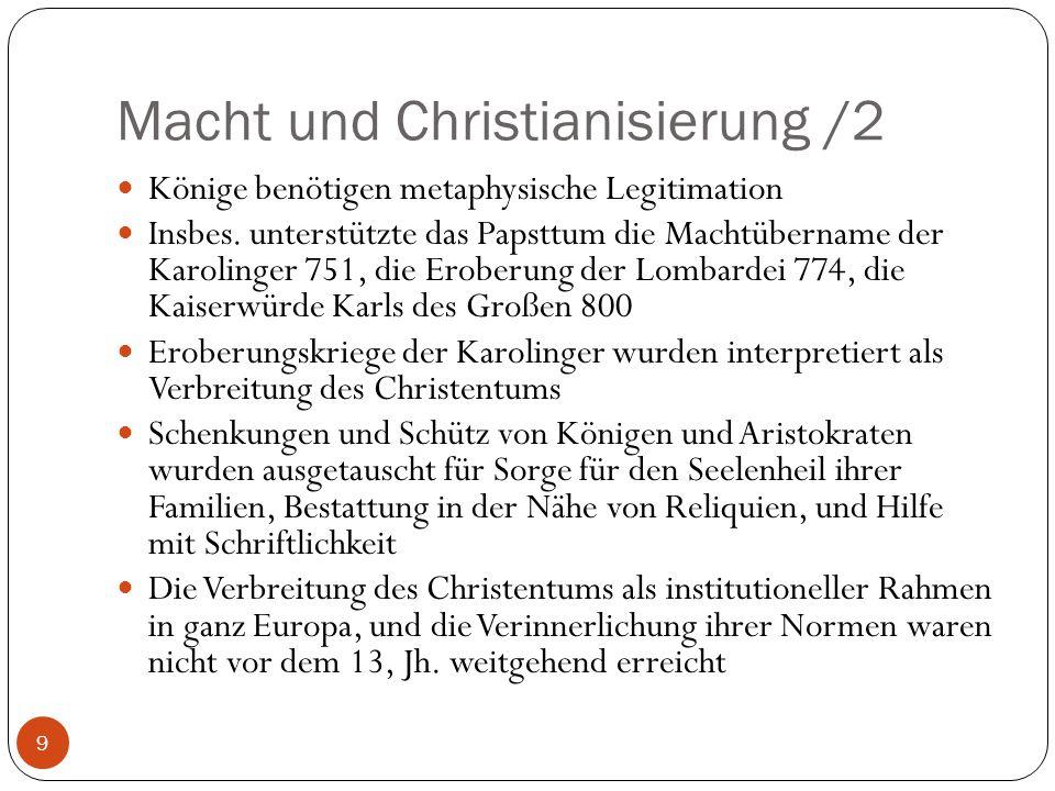 Macht und Christianisierung /2