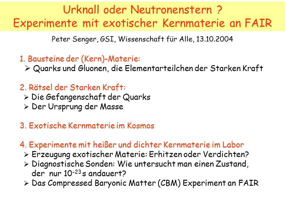 Urknall oder Neutronenstern