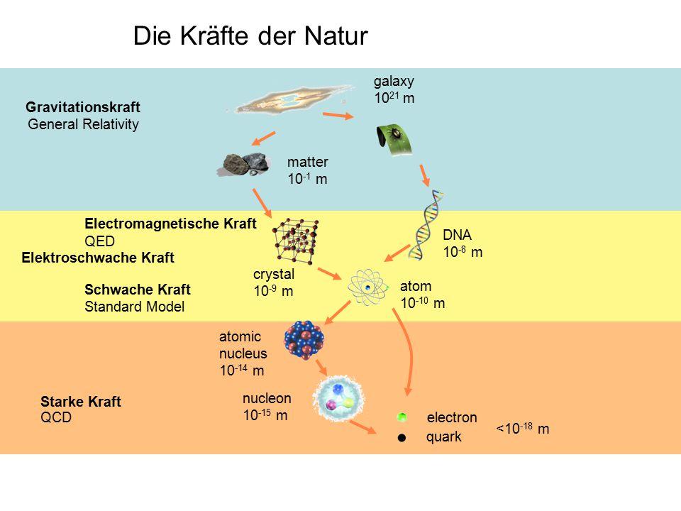 Die Kräfte der Natur galaxy 1021 m Gravitationskraft