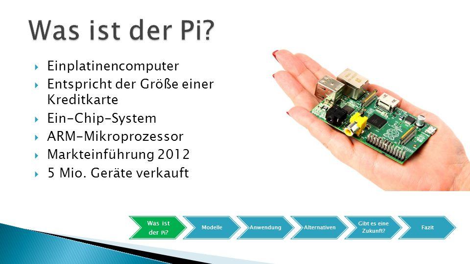Was ist der Pi Einplatinencomputer