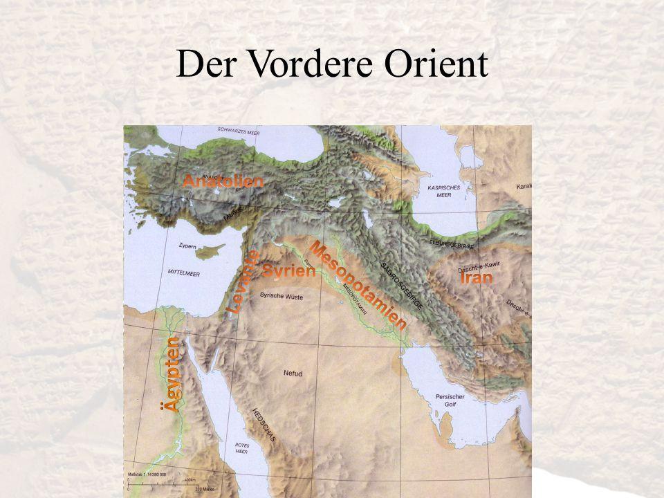 Der Vordere Orient Ägypten