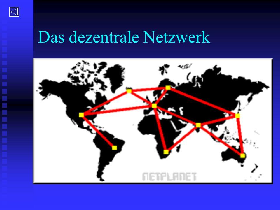 Das dezentrale Netzwerk