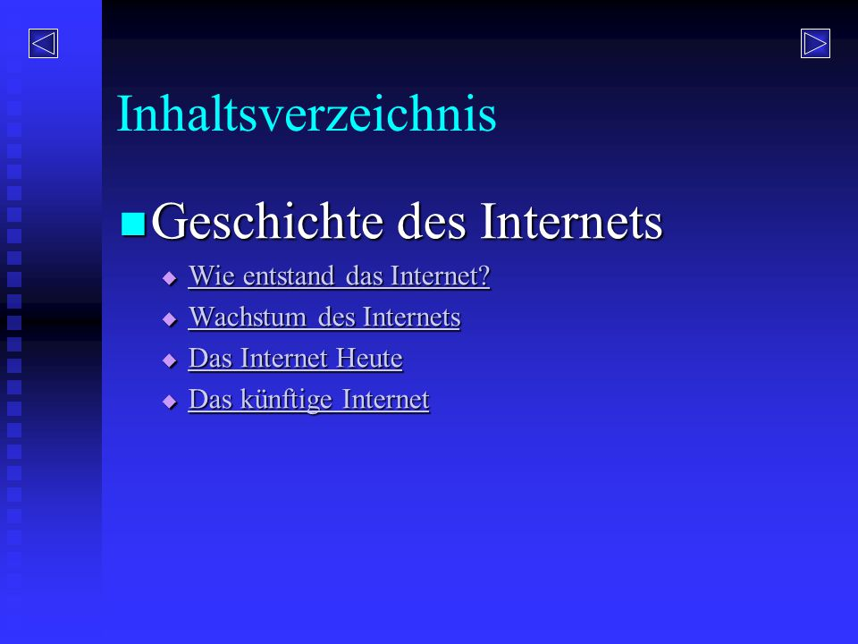 Geschichte des Internets
