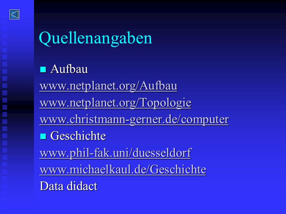 Quellenangaben Aufbau www.netplanet.org/Aufbau