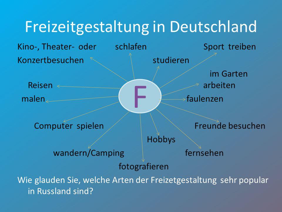 Freizeitgestaltung in Deutschland