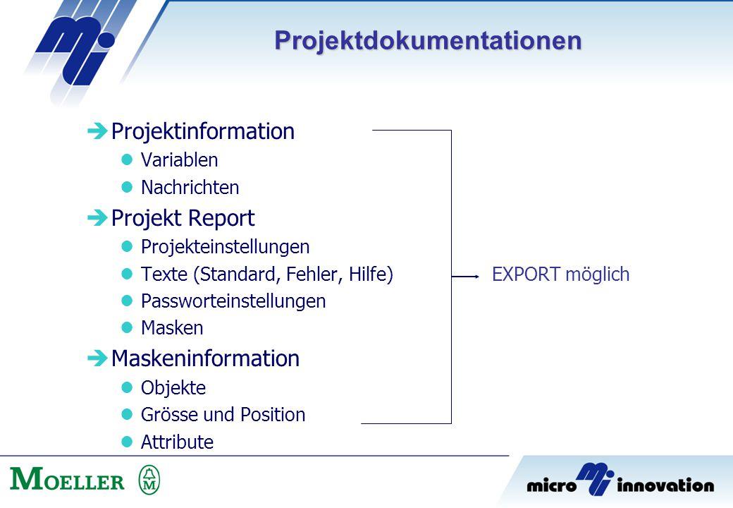 Projektdokumentationen