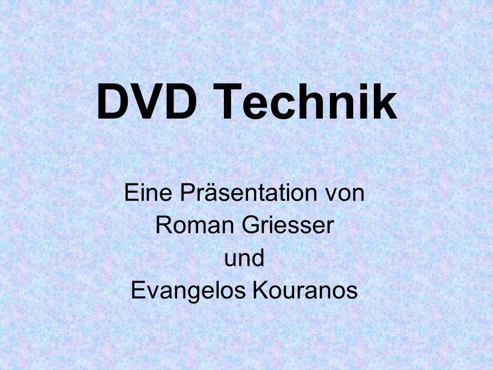 Eine Präsentation von Roman Griesser und Evangelos Kouranos