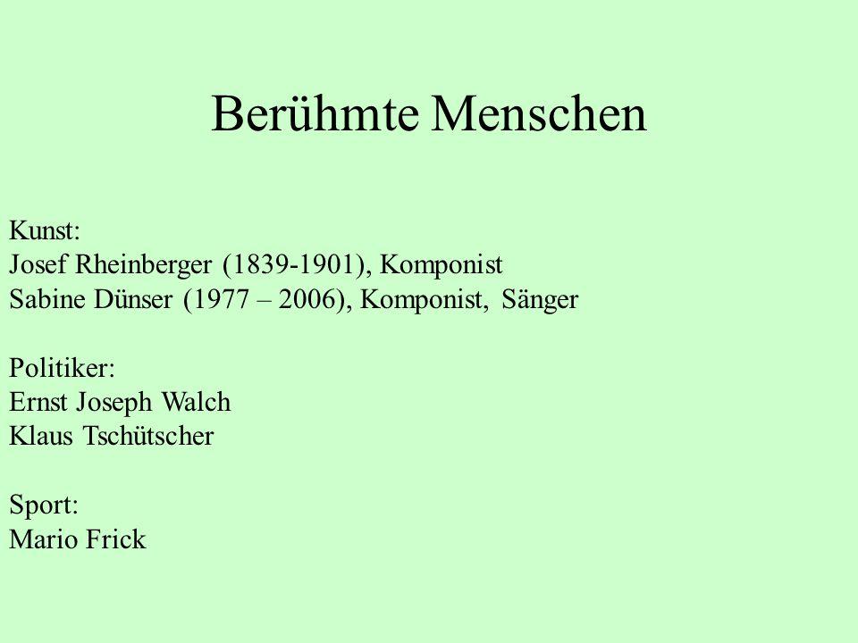 Berühmte Menschen Kunst: Josef Rheinberger (1839-1901), Komponist