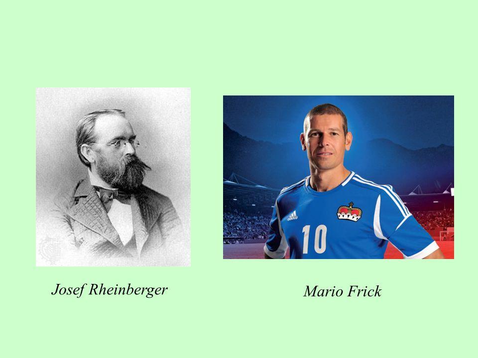 Josef Rheinberger Mario Frick