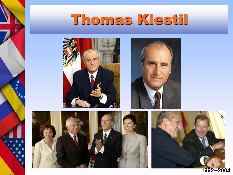 Thomas Klestil 1992--2004