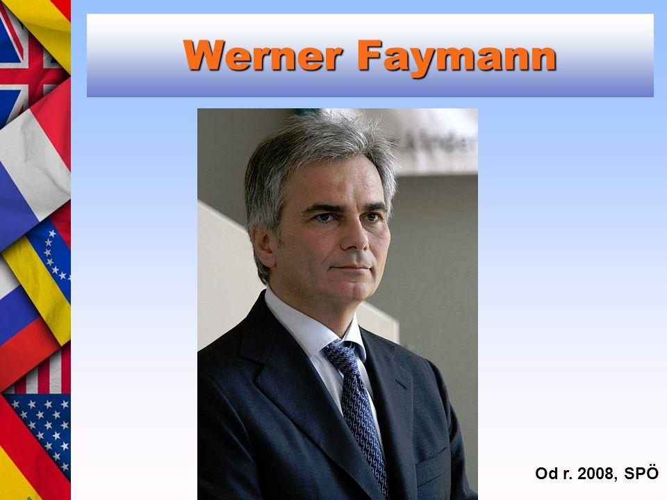 Werner Faymann Od r. 2008, SPÖ