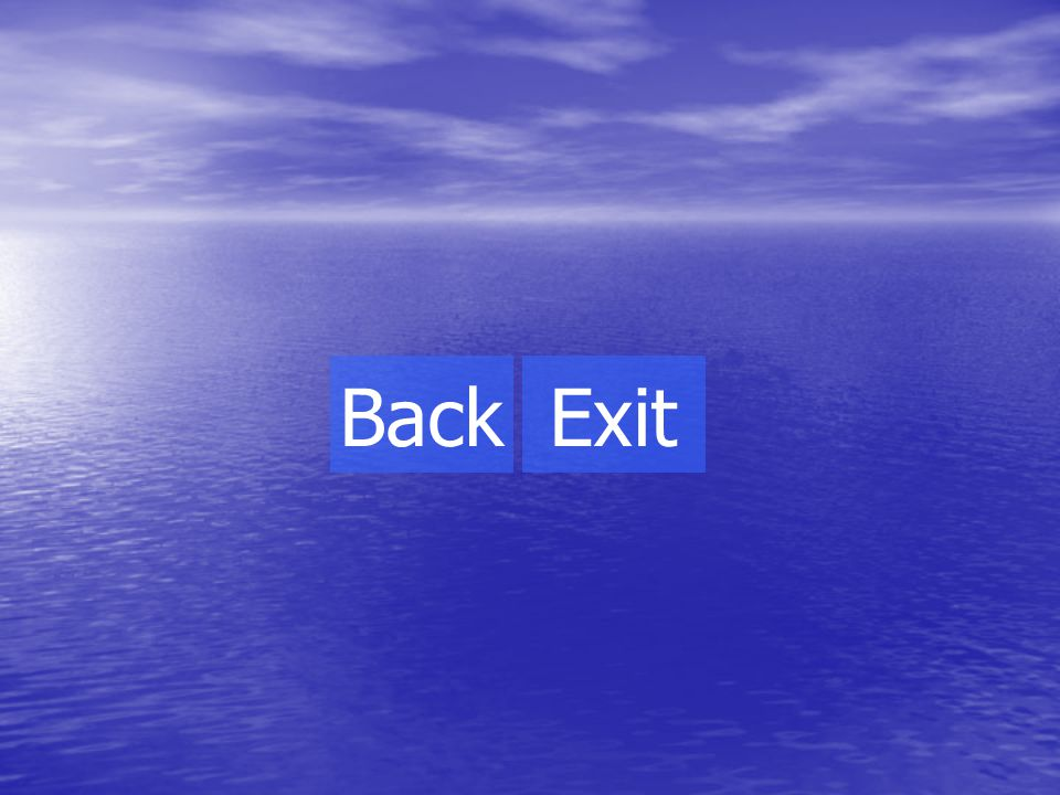 The end! Back Exit