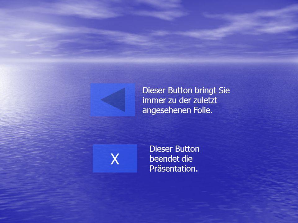 X Dieser Button bringt Sie immer zu der zuletzt angesehenen Folie.