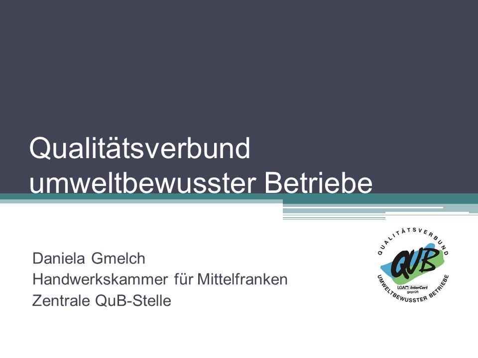 Qualitätsverbund umweltbewusster Betriebe