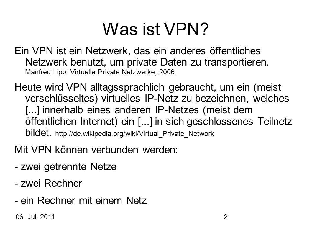 Was ist VPN