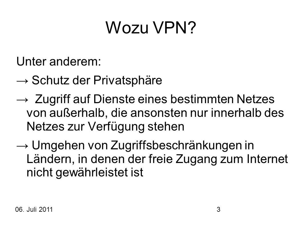 Wozu VPN Unter anderem: → Schutz der Privatsphäre