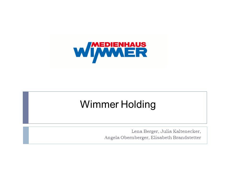 Wimmer Holding Lena Berger, Julia Kaltenecker,