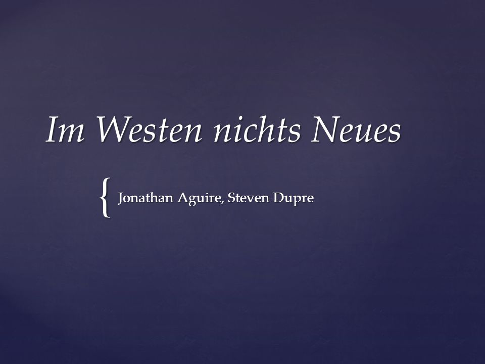 Jonathan Aguire, Steven Dupre
