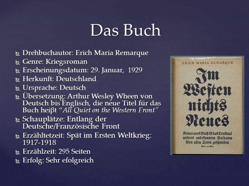 Das Buch Schauplätze: Entlang der Deutsche/Französische Front