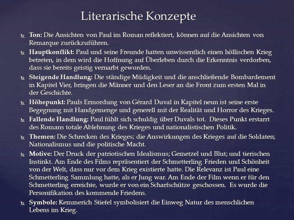 Literarische Konzepte