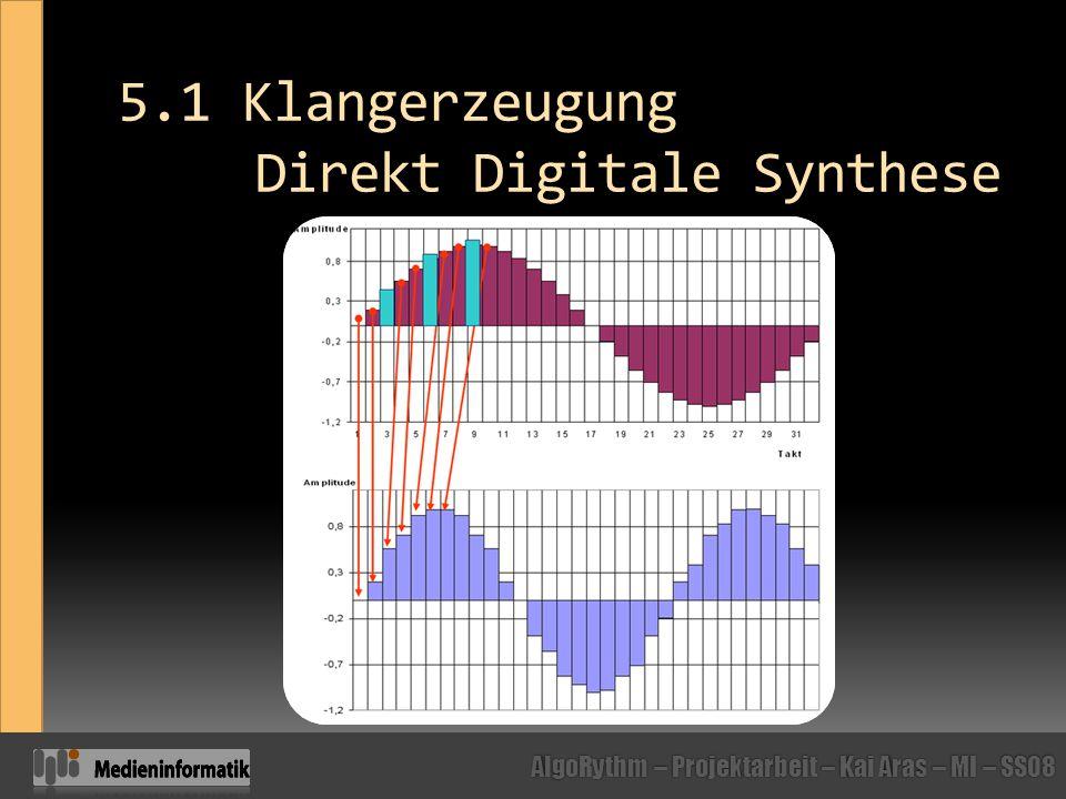 5.1 Klangerzeugung Direkt Digitale Synthese