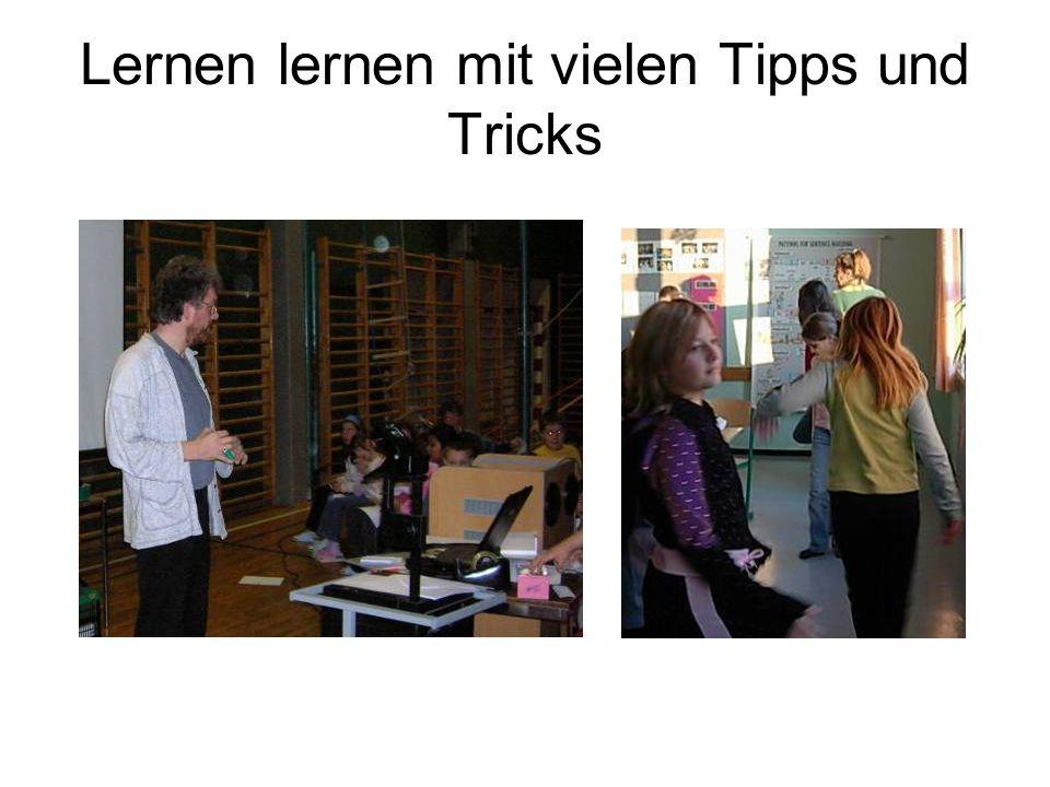 Lernen lernen mit vielen Tipps und Tricks
